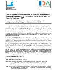 Skibsteknisk Selskab (Foreningen til Søfartens Fremme samt ...