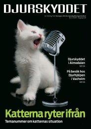 Temanummer om katternas situation - Djurskyddet Sverige