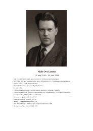 N.O. Lassen - Niels Bohr Archive