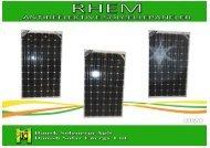 REFLEKTIONER fra solceller - Dansk Solenergi RI