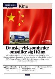 Danske virksomheder omstiller sig i Kina - Berlingske