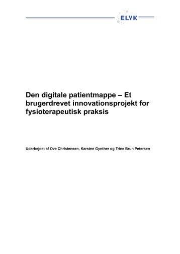 Den digitale patientmappe - Om ELYK projektet