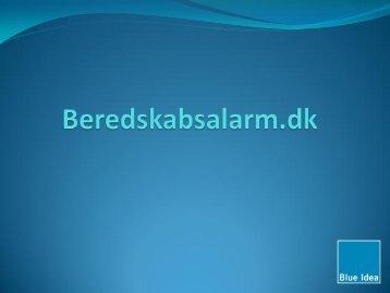 Beredskabs alarmer - Blue Idea