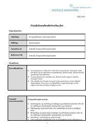 Fysioterapeut i Kirurgisk afsnit - Sygehus Vendsyssel