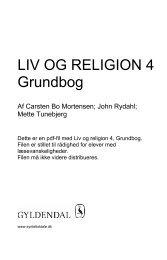 Grundbog LIV OG RELIGION 4 - Syntetisk tale