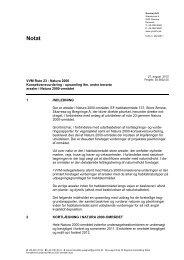 Konsekvensvurdering Natura 2000 - Vejdirektoratet