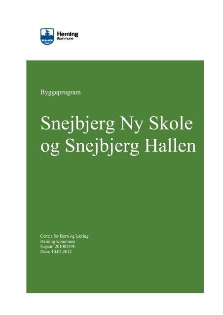 3b60e96e8 Byggeprogram - Herning Kommune