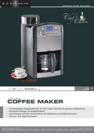 COFFEE MAKER - BOB HOME
