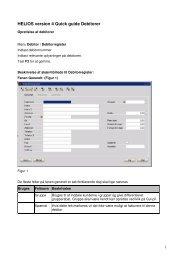 HELIOS version 4 Quick guide Debitorer - Notaplan