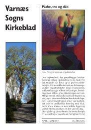 Kirkebladet, marts 2012 - Varnæs Kirke