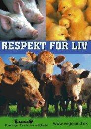 RESPEKT FOR LIV RESPEKT FOR LIV - Vegan Outreach