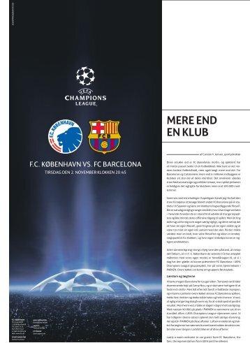 MERE END EN KLUB - FC København
