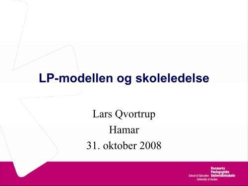 lp modellen