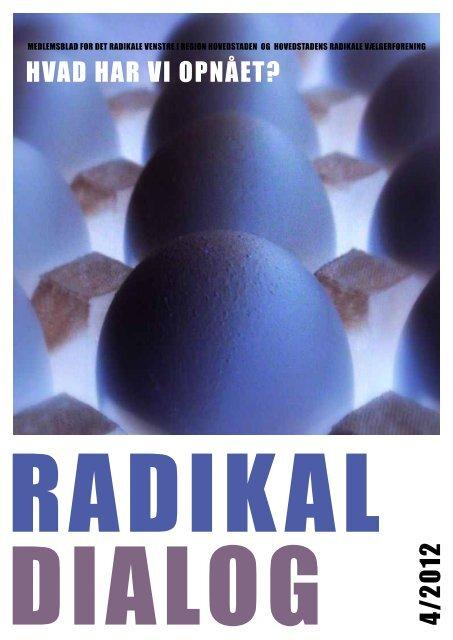 Læs hele bladet i pdf-format. - Radikale Hovedstaden