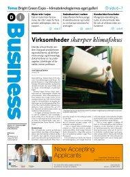 Now Accepting Applicants - Dansk Industri