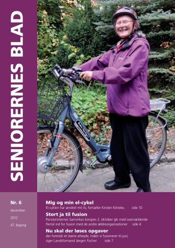 Seniorernes Blad nr. 6 2012 - Pensionisternes Samvirke