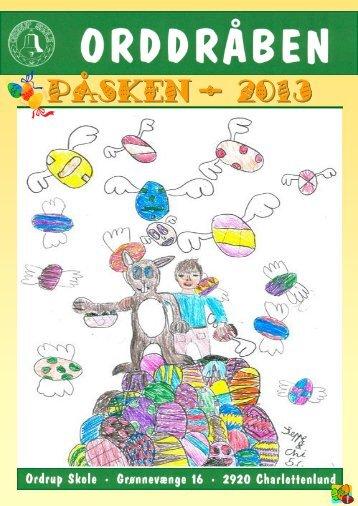 PÅSKEN - 2013 - Ordrup Skole