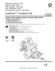 312542G - LineDriver/LineDriver HD, Operation,Repair ... - Graco Inc.
