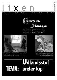 Udlandsstof under lup - teknokrati . dk