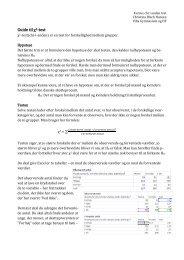 Guide til χ2-test - Emu