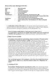 Referat af bestyrelsesmødet 3. maj 201 - Ronhojgaard