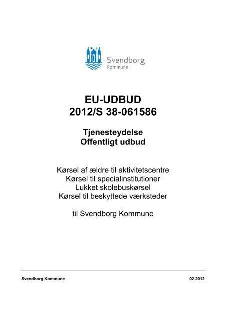 Udbudsmaterialet - Svendborg kommune
