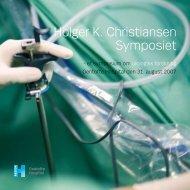 Holger K. Christiansen Symposiet - Gentofte Hospital