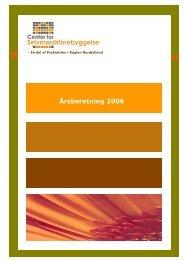 Årsberetning 2006 - Psykiatrien - Region Nordjylland
