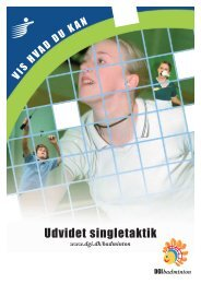 Udvidet singletaktik - Lunderskov Badminton Klub