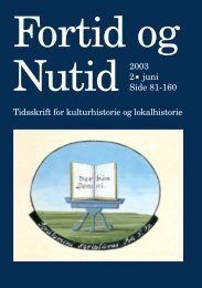 Nr. 2/2003 - Kulturstudier