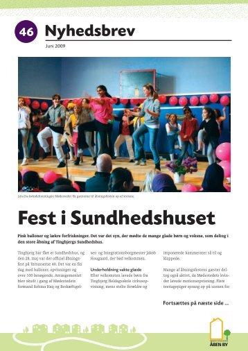 Tingbjerg Nyhedsbrev 46, juni 2009