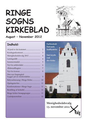 RINGE SOGNS KIRKEBLAD - Ringe Kirke
