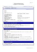 Sikkerhedsdatablad - BI-RO A/S - Page 3