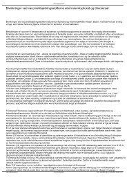 Bivirkninger ved vaccinetilsætningsstofferne ... - MayDay
