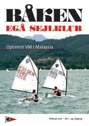 Optimist VM i Malaysia - Egå Sejlklub