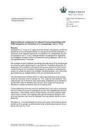 Sammenfattende redegørelse - Miljøstyrelsen