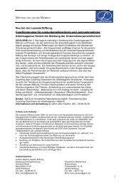 Coachinggruppe für Jungunternehmerinnen und ... - Lawaetz-Stiftung