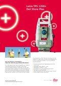 Leica TPS 1200+ Det Store Plus - Kort og Landmålingsteknikernes ... - Page 5