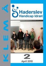 2 K L E M  Å - Haderslev Handicap Idræt