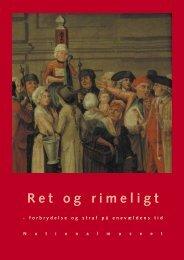 Ret og Rimeligt med ny tekst - Skoletjenesten
