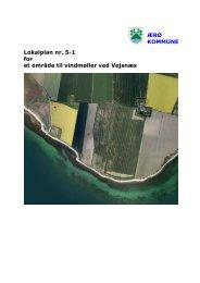 5-1 for et område til vindmøller ved Vejsnæs - Ærø kommune