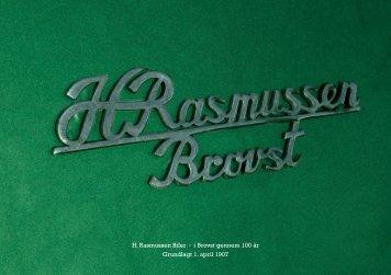 Læs vores historie - H. Rasmussen Biler i Brovst