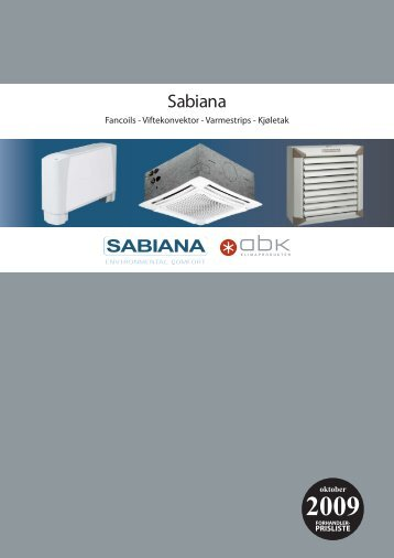 Sabiana - Partnerline AS