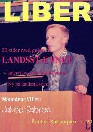 Liber september 2012 - Venstres Ungdom