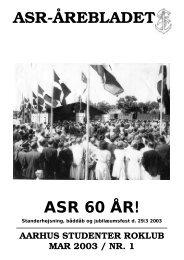 Årebladet 03.1 - ASR - Aarhus Studenter Roklub