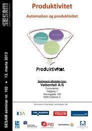 Produktivitet - Sesam Danmark | SESAM World