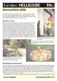 Sommerferie 2000 - www . h - online . dk