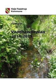 Vandhandleplan 2010. 2015 - Høje-Taastrup Kommune