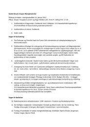 Referat af menighedsrådsmødet 24. januar 2012 - Odense Domkirke