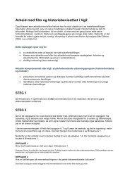 Operasjon Almenrausch - Arbeid med film og historiebevissthet i Vg2
